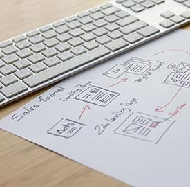 Developing content marketing strategies