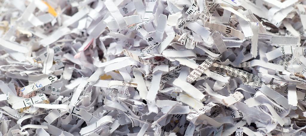 Scientific sales literature shredded because it wasn't effective