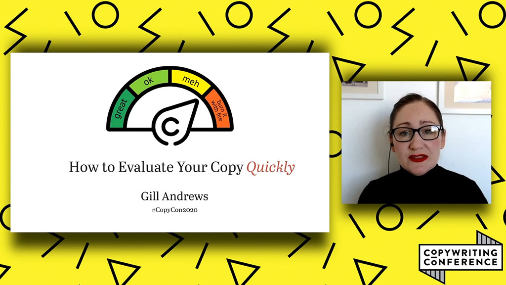 Gill Andrews - How to evaluate your copy